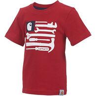 Carhartt Boys' Flag Tools Short-Sleeve T-Shirt