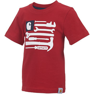 Carhartt Infant/Toddler Boys Flag Tools Short-Sleeve T-Shirt