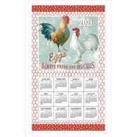 Kay Dee Designs 2021 Farm Nostalgia Calendar Towel