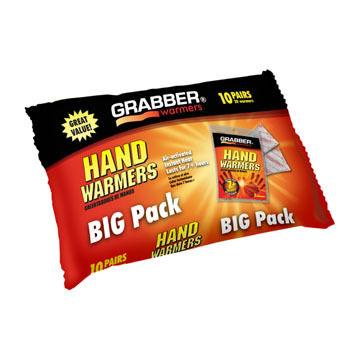 Grabber Hand Warmer Pack - 10 Pair