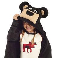 Lazy One Kids Bear Critter Hooded Blanket