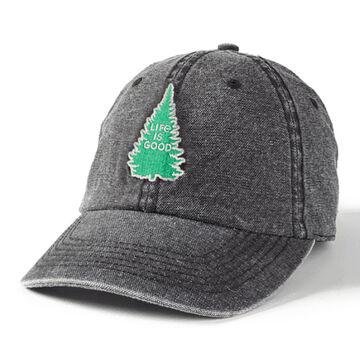 Life is Good Mens LIG Pine Sunworn Chill Cap