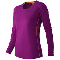 New Balance Women's Accelerate Long-Sleeve Top