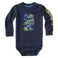 Carhartt Infant/Toddler Boys' Construction Stack Long-Sleeve Bodyshirt