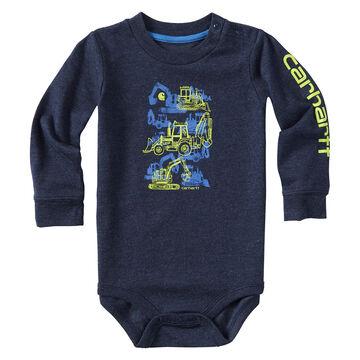 Carhartt Infant/Toddler Boys Construction Stack Long-Sleeve Bodyshirt