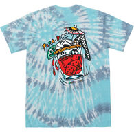 Grundens Men's Dark Seas Para Dice Tie Dye Short-Sleeve T-Shirt
