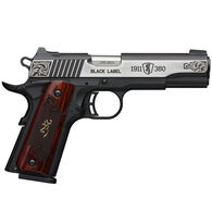 "Browning 1911-380 Black Label Medallion Engraved 380 ACP 4.25"" 8-Round Pistol"