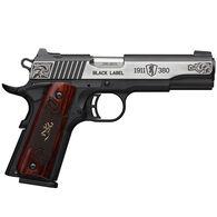 "Browning 1911-380 Black Label Medallion Engraved 380 ACP 3.6"" 8-Round Pistol"