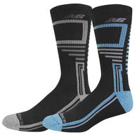 New Balance Men's Performance Crew Sock, 2/pk - Special Purchase
