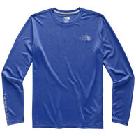 The North Face Men's Reaxion Graphic Crew Long-Sleeve T-Shirt