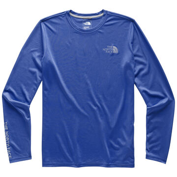 The North Face Mens Reaxion Graphic Crew Long-Sleeve T-Shirt