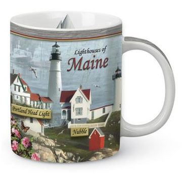 Cape Shore Lighthouses of Maine Shore Mug