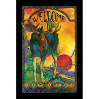 Wild Wings Morning Moose Wall Art