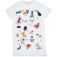Hatley Women's Ruff Night Short-Sleeve Sleepshirt