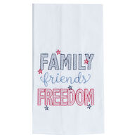 Kay Dee Designs Freedom Embroidered Flour Sack Towel