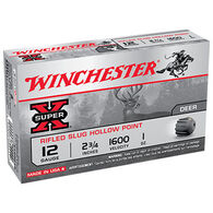 "Winchester Super-X 12 GA 2-3/4"" 1 oz. Rifled HP Slug Ammo Value Pack (15)"