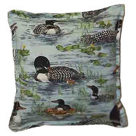 """Paine Products 6"""" x 6"""" Loon Balsam Pillow"""