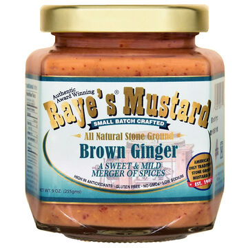 Rayes Mustard Brown Ginger Mustard