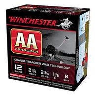 """Winchester AA TrAAcker 12 GA 2-3/4"""" 1-1/8 oz. #8 Shotshell Ammo (25)"""