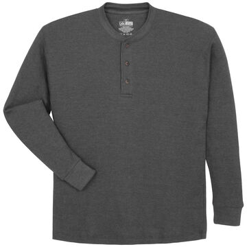 Canyon Guide Men's Thermal Henley Long-Sleeve Shirt