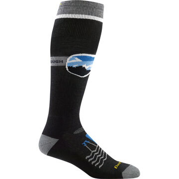 Darn Tough Vermont Mens Goggle Guy Over-the-Calf Padded Cushioned Ski/Ride Sock