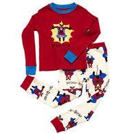 Lazy One Boy's Spider Bear Pajama