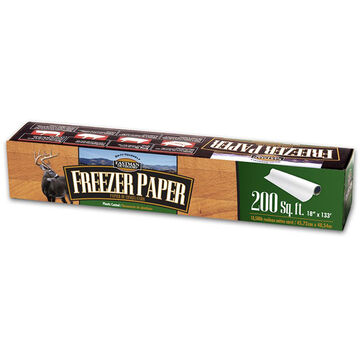Eastman Outdoors 18 Plastic Coated Freezer Paper Roll - 133 Ft.