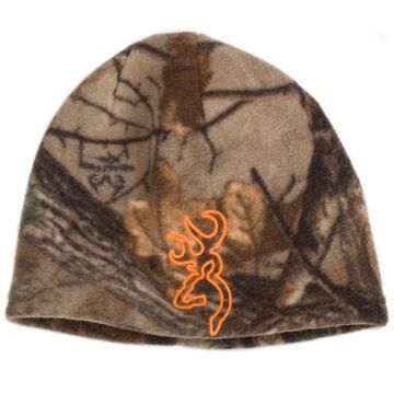 Browning Mens Reversible Fleece Beanie Hat
