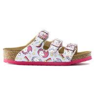 Birkenstock Girls' Florida Birko-Flor Unicorn Sandal