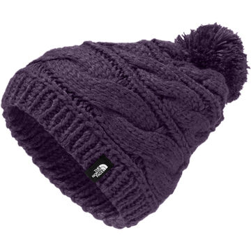 The North Face Womens Triple Cable Pom Beanie