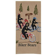 Park Designs Biker Bears Dish Towel
