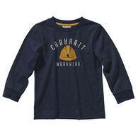 Carhartt Toddler Boy's Heather Graphic Long-Sleeve Shirt