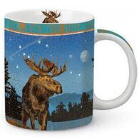 Cape Shore Twilight Moose Mug