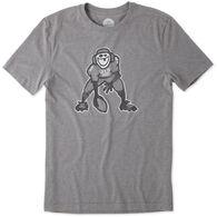 Life is Good Men's Hut Hut Hike Cool Sleep Short-Sleeve T-Shirt