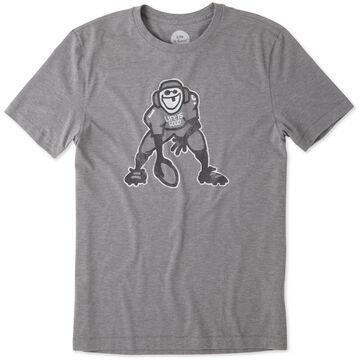 Life is Good Mens Hut Hut Hike Cool Sleep Short-Sleeve T-Shirt