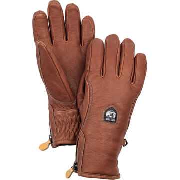 Hestra Glove Mens Furano Swisswool Leather Glove