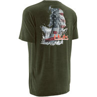 Huk KC Scott American Bass Short-Sleeve T-Shirt
