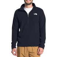 The North Face Men's Men's Textured Cap Rock Quarter-Zip Long-Sleeve Shirt