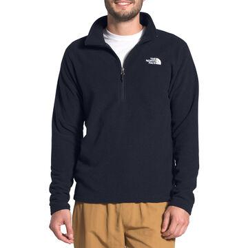 The North Face Mens Mens Textured Cap Rock Quarter-Zip Long-Sleeve Shirt