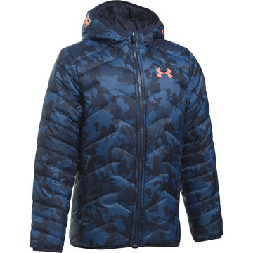 Under Armour Boys ColdGear Reactor Hooded Jacket