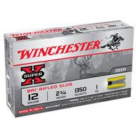"""Winchester Super-X 12 GA 2-3/4"""" 1 oz. BRI Sabot Slug Ammo (5)"""