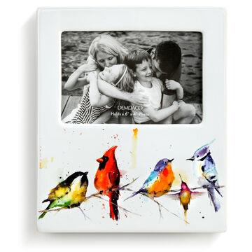 Big Sky Carvers Little Birds Ceramic Photo Frame