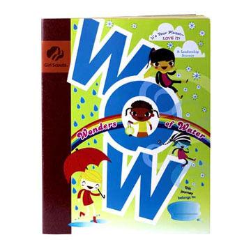 Girl Scouts Brownie WOW! Wonders of Water Journey Handbook