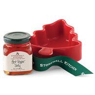 Stonewall Kitchen Hot Pepper Jelly Tree Ramekin Gift Set