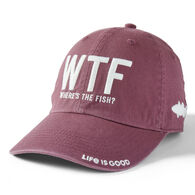Life is Good Men's Where's The Fish? Chill Cap