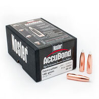 "Nosler AccuBond 7mm 140 Grain .284"" Spitzer Point Rifle Bullet (50)"