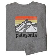 Patagonia Men's Line Logo Ridge Responsibili-Tee Long-Sleeve T-Shirt
