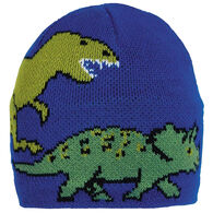 Turtle Fur Boys' & Girls' Jurassic Knit Dinosaur Beanie