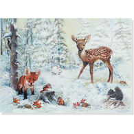 Peter Pauper Press Snowy Forest w/Keepsake Box Deluxe Holiday Cards