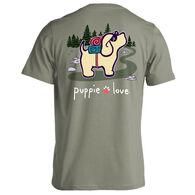 Puppie Love Women's Hiking Pup Short-Sleeve T-Shirt